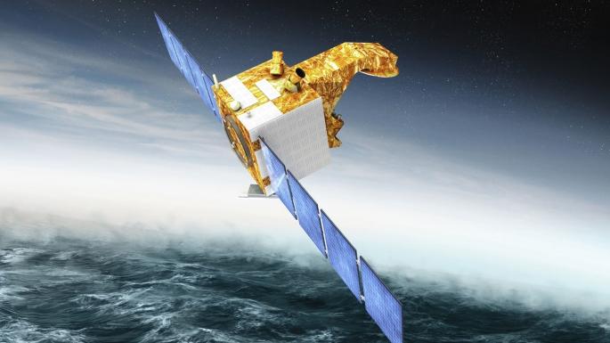 surveiller le vent et les vagues depuis l'espace